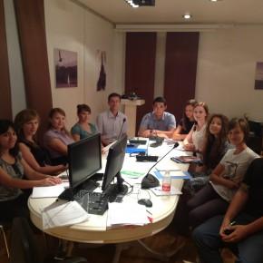 Новый набор в Каспийской высшей школе перевода!