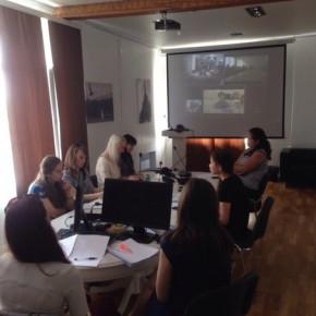 Видеоконференция с Университетом Женевы!