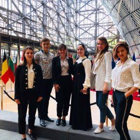 Магистранты Каспийской высшей школы перевода проходят стажировку в Институтах ЕС