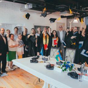 Торжественная церемония выпуска в Каспийской высшей школе перевода!