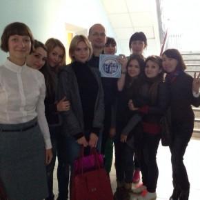 Визит Илги Берзиной и Лиэма Лонга в Астрахань