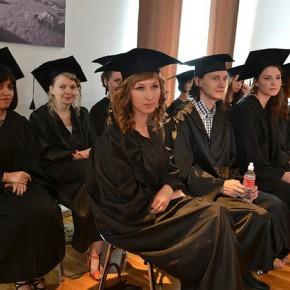 Торжественная церемония вручения дипломов в КВШП!