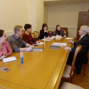 Стажировка в Департаменте лингвистического обеспечения МИД России, 2019 год