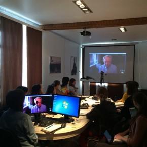 Виртуальная лекция с Владимиром Факовым