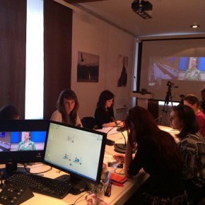 Весна – пора видеоконференций в Каспийской высшей школе перевода