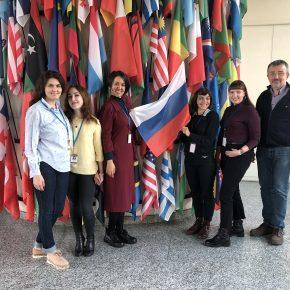 Магистранты КВШП совершенствуются в ООН