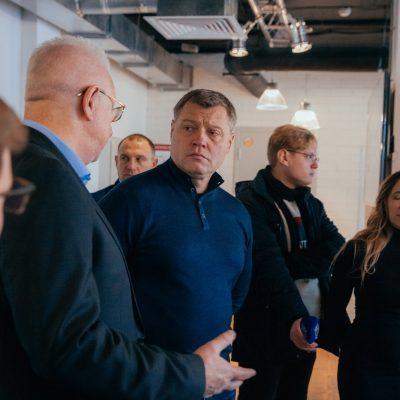 Губернатор Игорь Бабушкин ознакомился с образовательными возможностями КВШП