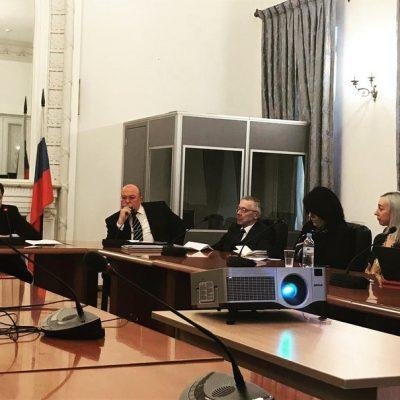 Преподаватели КВШП посетили ежегодный семинар информационного центра ООН В Москве