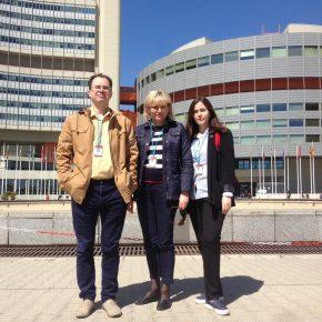 Стажировка магистрантов КВШП в отделении ООН в Вене!