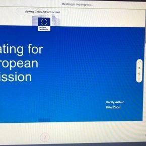 Виртуальная стажировка магистрантов КВШП в институты ЕС: Гендиректорат по письменному переводу Европейской комиссии